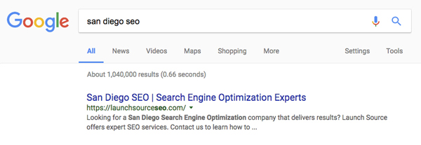 SEO-Rankings
